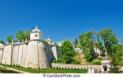 Kiev-Pechersk Lavra - wall of Kiev-Pechersk Lavra