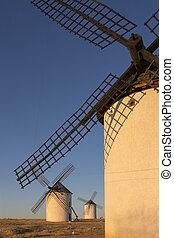 Wall of La Mancha - Spain
