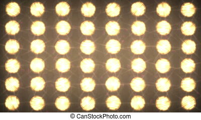 Wall of light from large searchlights - A set of simple...