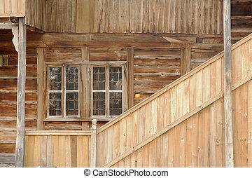 wall of the farmhouse - 1