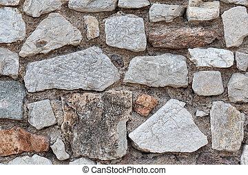 wall of the large masonry