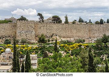Wall of the Old City, Jerusalem