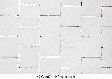 wall of white stones abstract texture background