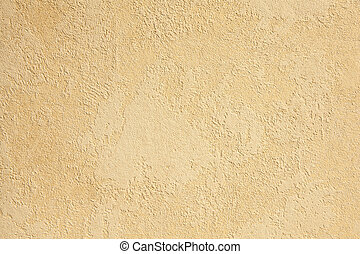 Embossed wall-paper in ecru color