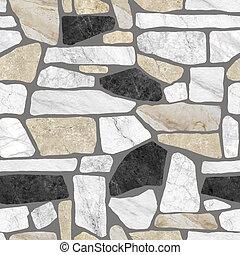 Wall stone pattern background