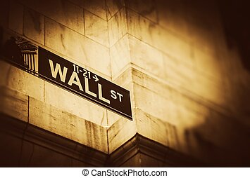 wall street, endroit