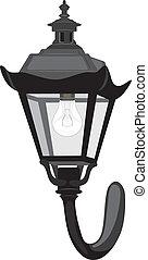 Wall street lantern
