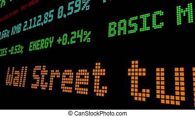 Wall Street tumbles as virus fuels economic worry stock ticker