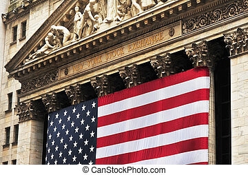 Wall Street. - Wall Street is in NYC.