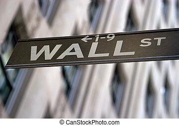 wall street zeichen, new york