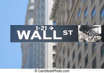 wall street zeichen