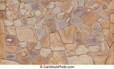 Wall texture Slate cut Stone.
