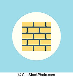 wall vector icon sign symbol