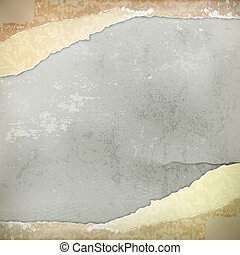 Wall, vector vintage background