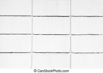 Wall White block for background