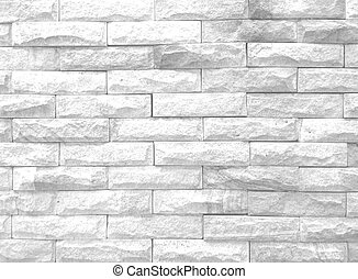Wall white block textured for background