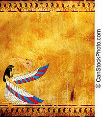 Isis - Wall with Egyptian goddess image - Isis