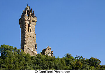 Wallace Monument, Scotland - The Wallace Monument occupies a...