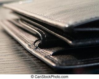 Wallet closeup