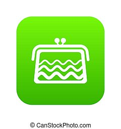 Wallet icon green