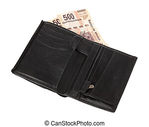 Five hundred pesos  A stock photo of a new five hundred