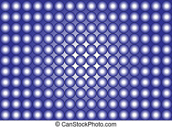 wallpaper-circles-blue, witte