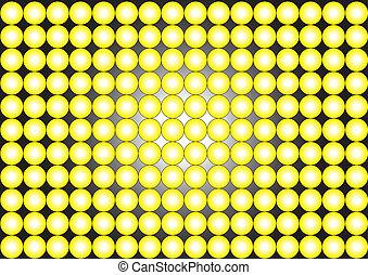 wallpaper-circles-yellow, black