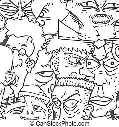 Wallpaper faces