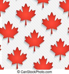 wallpaper., feuilles, érable, rouges