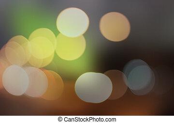 Wallpaper green bokeh background