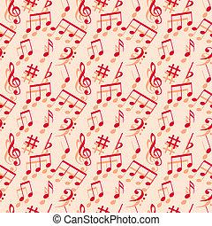 wallpaper., musique, notes., seamless