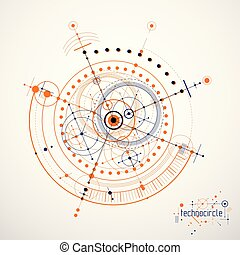 wallpaper., resumen, fondo., ingeniería, vector, mecánico, tecnología, futurista