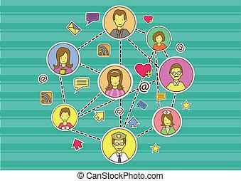 Wallpaper Social Media