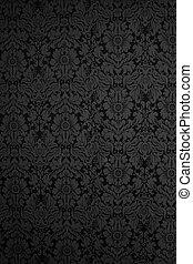 wallpaper - Seamless Gothic Damask wallpaper background