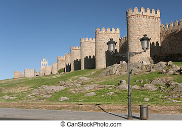 Walls of Avila, Castilla y Leon, Spain