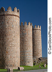 Walls of Avila, Castilla y Leon (Spain)