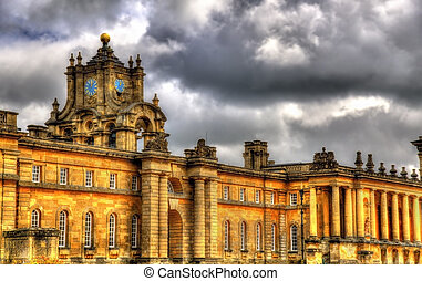 Walls of Blenheim Palace - Oxfordshire, England