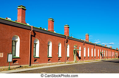 Walls of the Peter and Paul Fortress in St. Petersburg