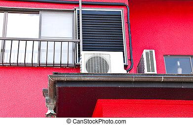 walls., rojo