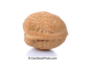 walnut isolated on white