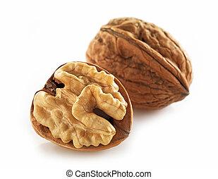 walnuts macro
