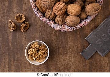 walnuts, zenit, kosz