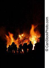 walpurgis, nuit, feu, 54