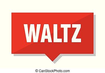 waltz red tag