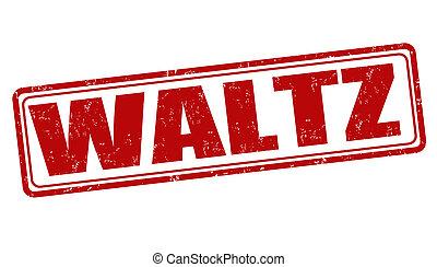 Waltz stamp