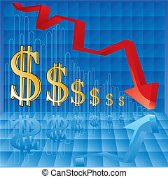 waluta, nadymanie, wykres