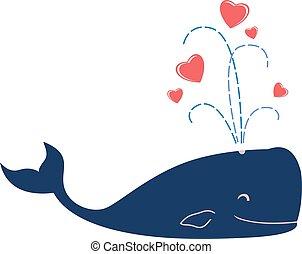 walvis, liefde