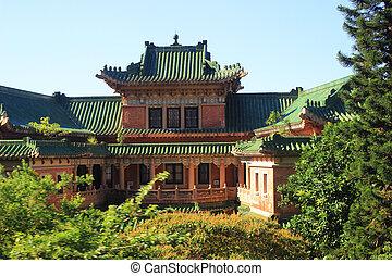 wan, edificios, chai, rey, yin, carril