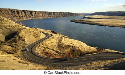 Wanapum Lake Overlook Columbia River Trinidad Central...