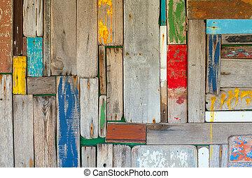 Wand, Abstrakt, Holz, hintergrund